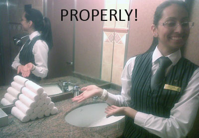 Properly!